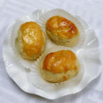 Baked Red Bean Paste Puff
